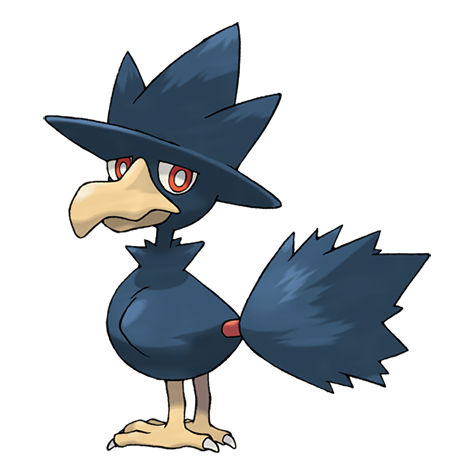 Murkrow Artwork