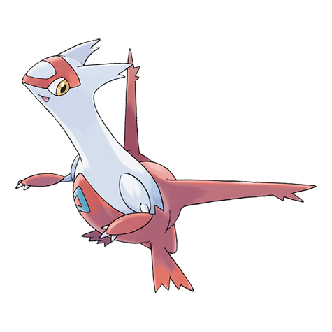 Latias Artwork
