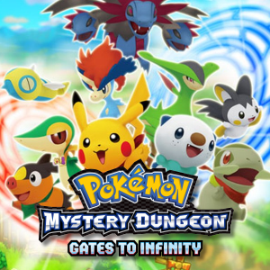 Pokémon Mystery Dungeon Gates to Infinity