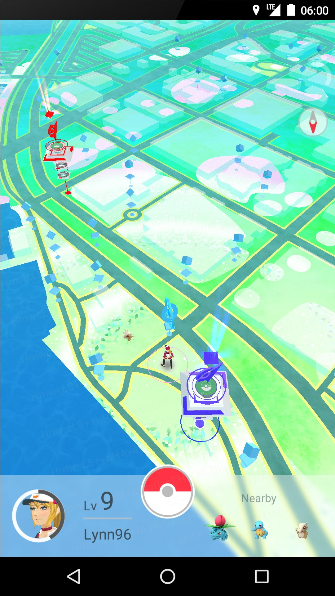 Pokémon GO- Pre-Release Screenshots