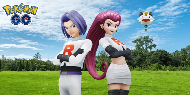 Team Rocket Jessie and James Event