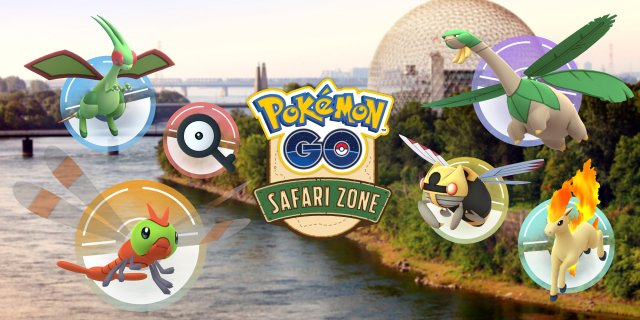 Montreal Safari Zone Tie-in