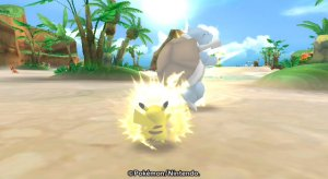 Pok�Park Wii - Pikachu's Great Adenture - Trial of Strength