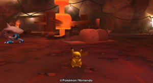 Pok�Park Wii - Pikachu's Great Adenture - Areas