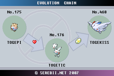 Togepi Pokédex: stats, moves, evolution & locations ... |Togepi Evolution Chart