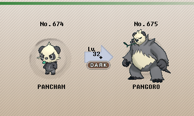 Pokemon Pancham Evolution Images   Pokemon Images Wailmer Evolution Chart