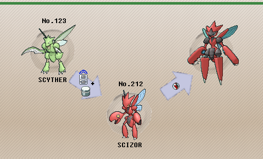 Image Gallery Scyther Evolutions