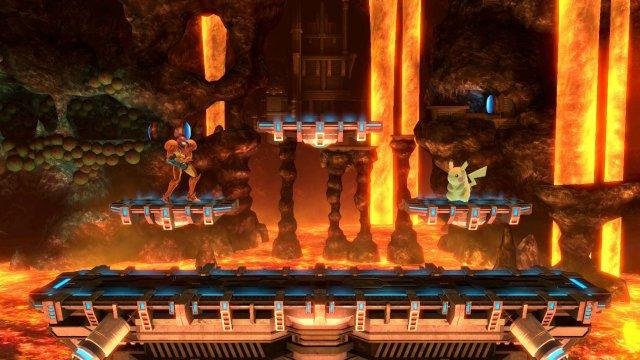 Norfair Super Smash Bros Ultimate Serebii Net