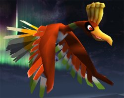 Ho-oh gets ready to attack