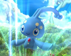 Manaphy is sent out