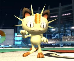 Meowth is sent out