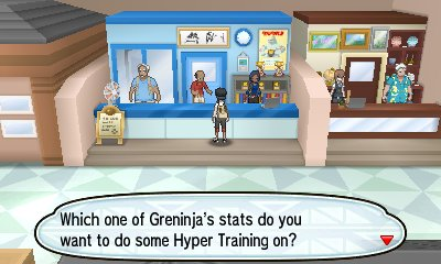 Pokémon Sun Moon Hyper Training