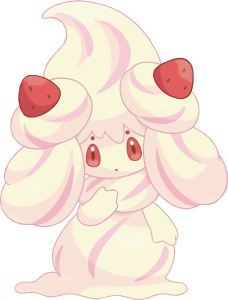 Alcremie Artwork