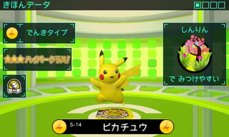 Pikachu is showcased