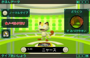 Meowth is showcased