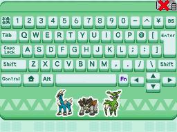 [Guia] Desbloqueando Acessórios em Pokémon Typing DS Secretsworddesign