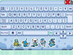 [Guia] Desbloqueando Acessórios em Pokémon Typing DS Watertype