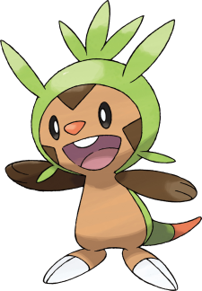 A Sexta Geração Pokémon Está Próxima!! Chespin